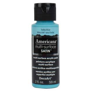 Americana Multi-Surface Acrylic Paint - Baby Blue