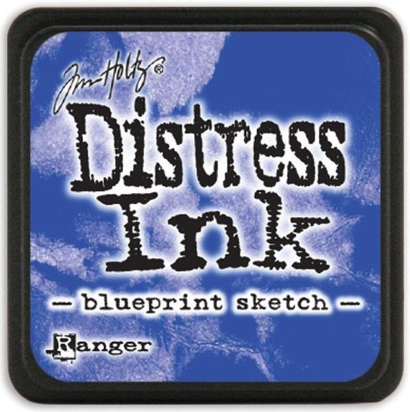 Tim Holtz Distress Mini Ink Pad - Blueprint Sketch