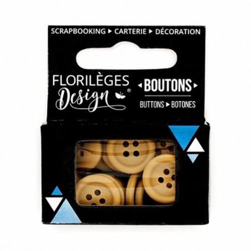 כפתורים - Boutons Cappuccino