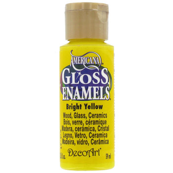 Americana Gloss Enamels - Bright Yellow