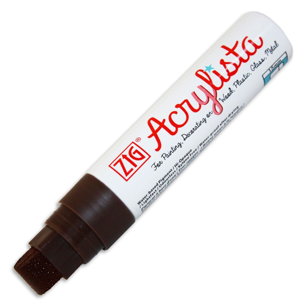 Zig Acrylista 15 mm - 624 Burnt Umber