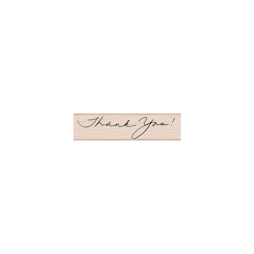 חותמת עץ- WRITTEN THANK YOU