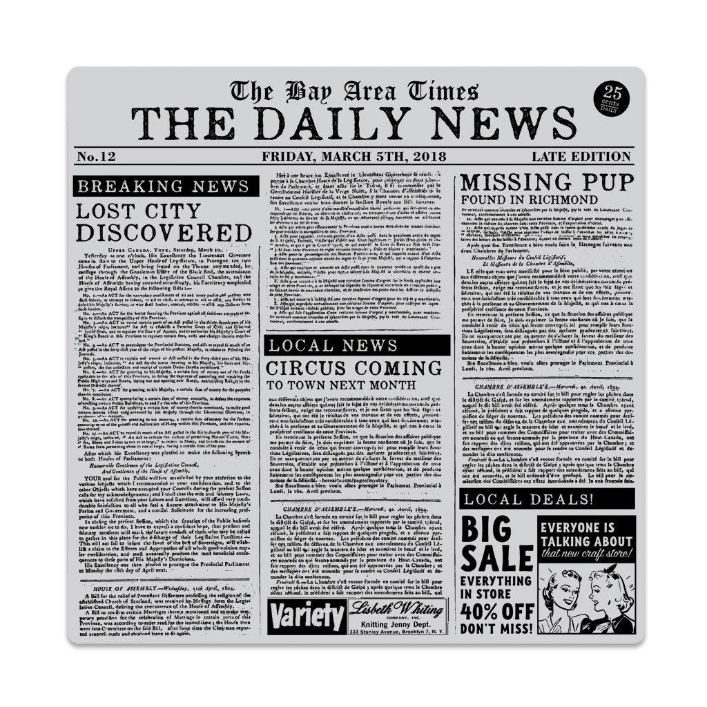 חותמת קלינג - NEWSPAPER