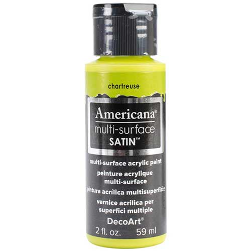 Americana Multi-Surface Acrylic Paint - Chartreuse