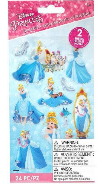 מדבקות - Disney CINDERELLA Stickers
