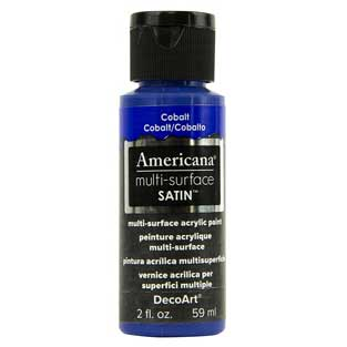 Americana Multi-Surface Acrylic Paint - Cobalt