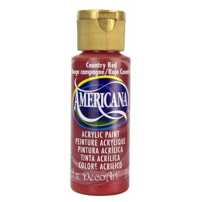 Americana Acrylic Paint - Country Red