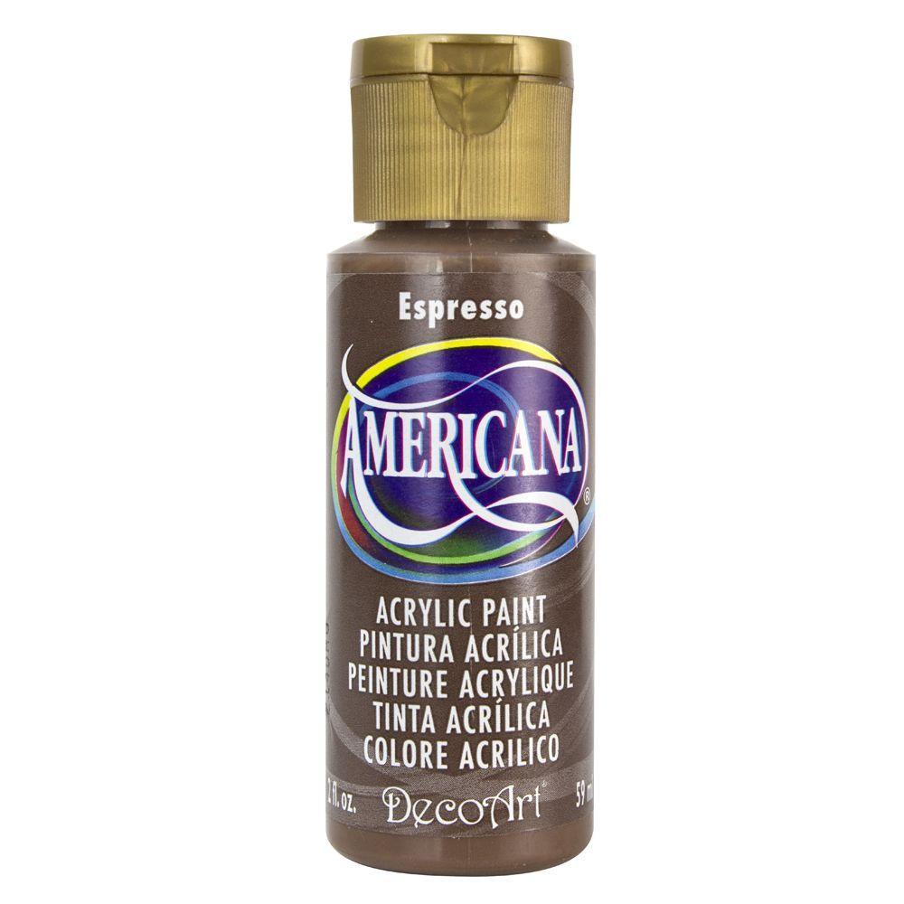 Americana Acrylic Paint - Espresso