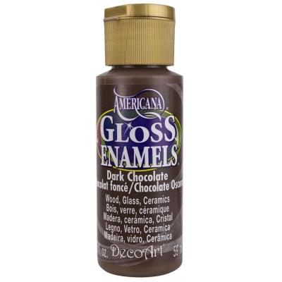 Americana Gloss Enamels - Dark Chocolate