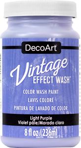 Vintage Effect Wash - Light Purple