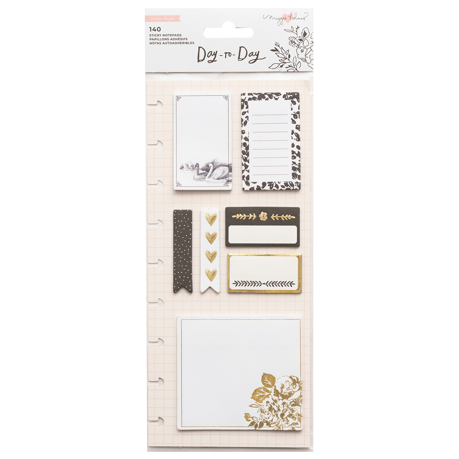 NOTE PAD DISC PLANNER - STICKY NOTES - SWAN