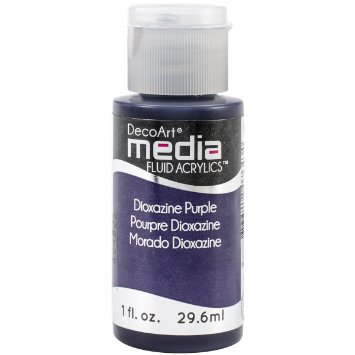 DecoArt Media Fluid Acrylic Paint - Dioxazine Purple