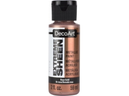 Extreme Sheen Acrylic Metallic Paint - Rose Gold