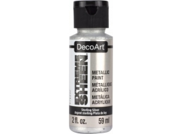 Extreme Sheen Acrylic Metallic Paint - Sterling Silver