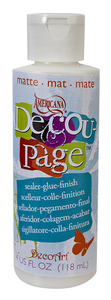 Americana Decoupage Matte Sealer 118 ml