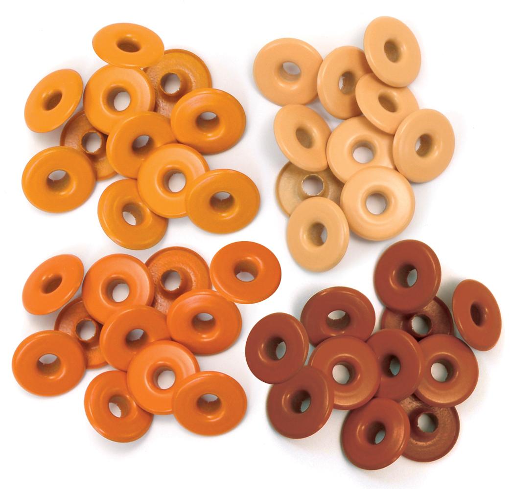 Eyelets - Wide - Orange