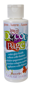 Americana Decoupage Gloss Sealer 118 ml
