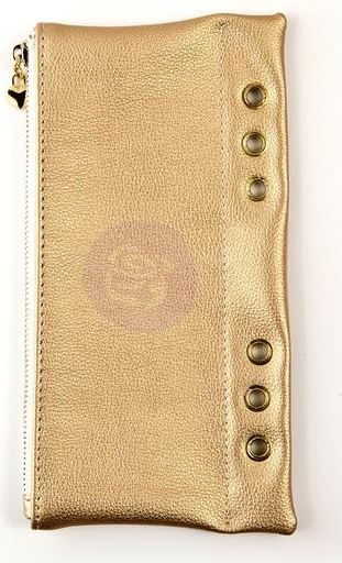 My Prima Planner Pencil Pouch - Two tone gold