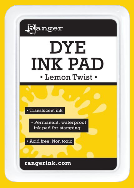 Ranger Dye Ink Pad - Lemon Twist - דיו Dye