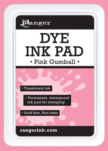 Ranger Dye Ink Pad - Pink Gumball - דיו Dye