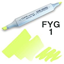 Copic Sketch Marker - FYG1 Fluorescent Yellow