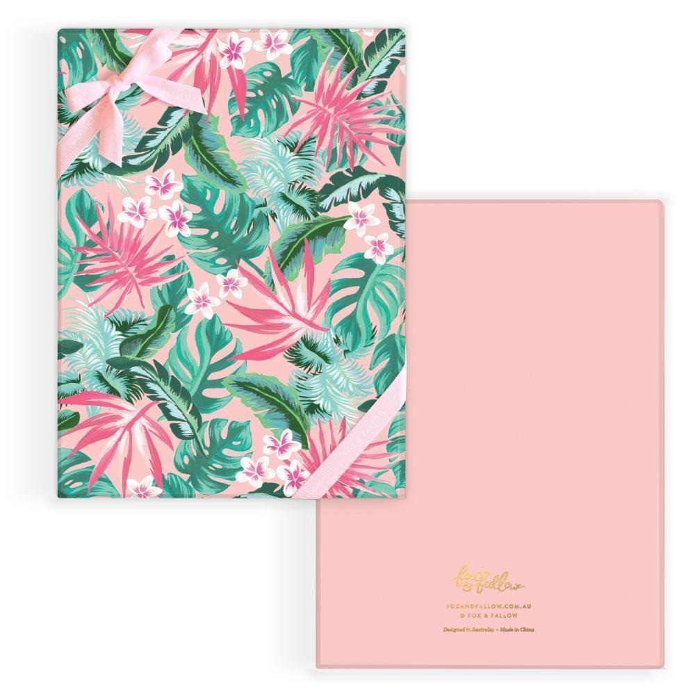 קופסה מעוצבת- Tropical Gift Box