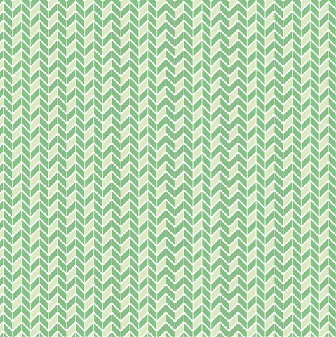 דף קארדסטוק - מסטיק לימון - זיגזג ירוק