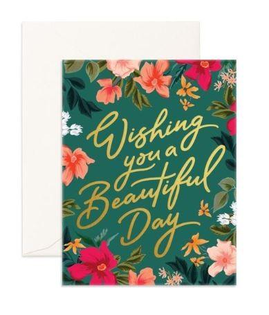 כרטיס ברכה- Beautiful Day Greeting Card