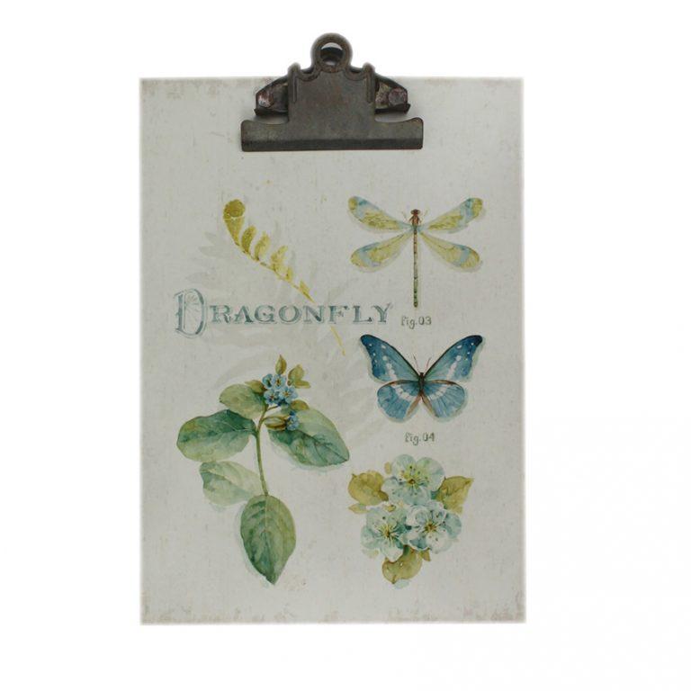 קליפבורד- לוח כתיבה דקורטיבי לתליה-שפיריות