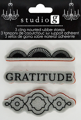 Cling Stamp - Gratitude