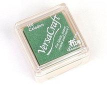 דיו לבדים - VersaCraft Small Ink Pad - Celadon
