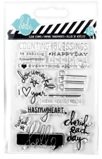 חותמות סיליקון - Heidi Swapp - Cherish Stamps