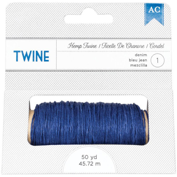 Hemp Twine - Denim