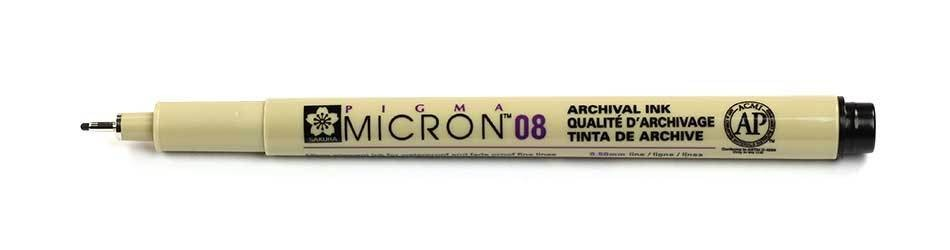 Sakura Pigma Micron - 08 Drawing Pen