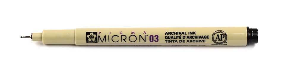 Sakura Pigma Micron - 03 Drawing Pen