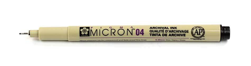 Sakura Pigma Micron - 04 Drawing Pen
