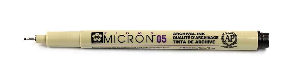 Sakura Pigma Micron - 05 Drawing Pen