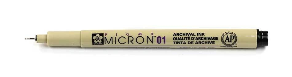 Sakura Pigma Micron - 01 Drawing Pen