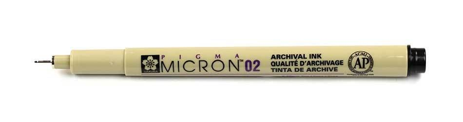 Sakura Pigma Micron - 02 Drawing Pen