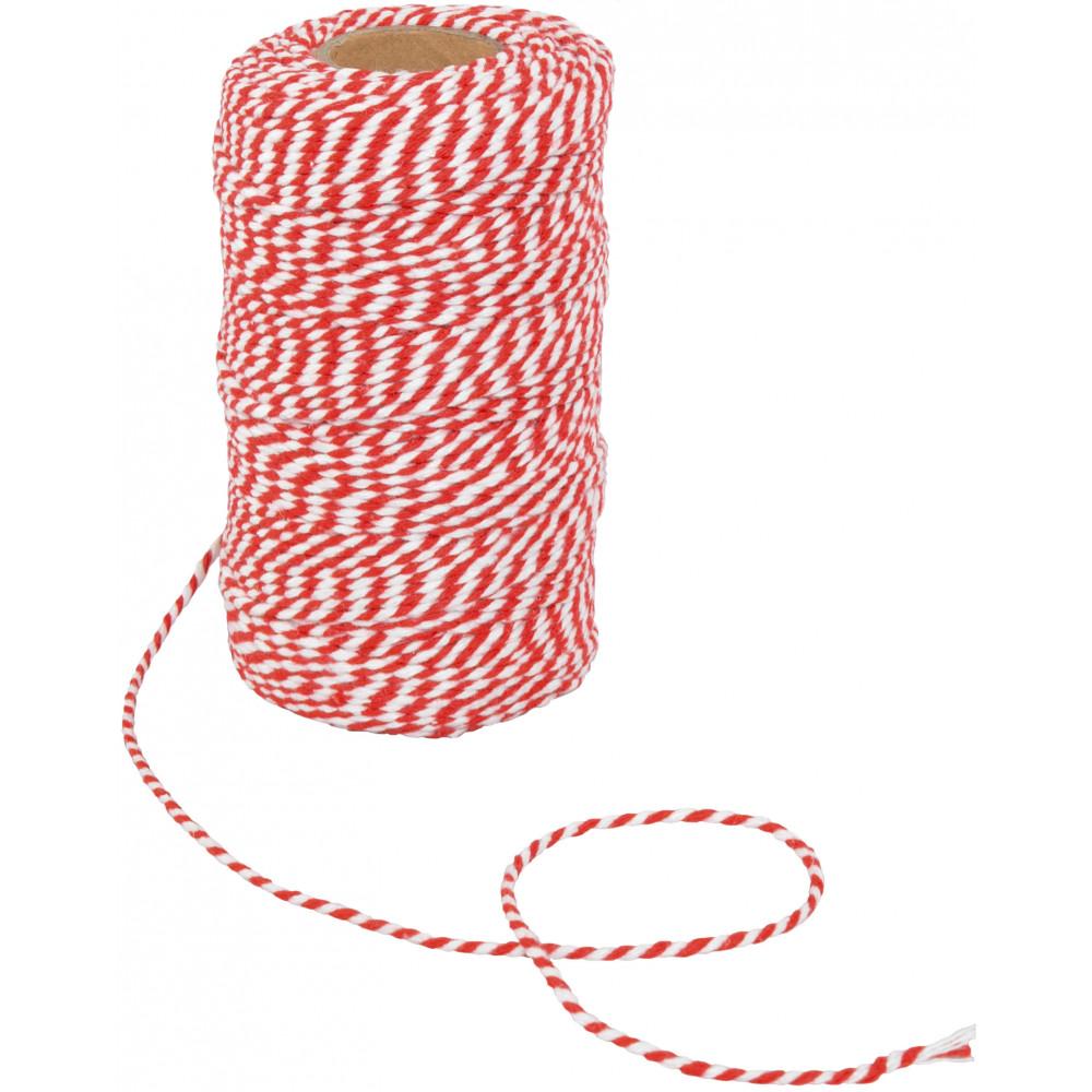 חוט טווין עבה -אדום