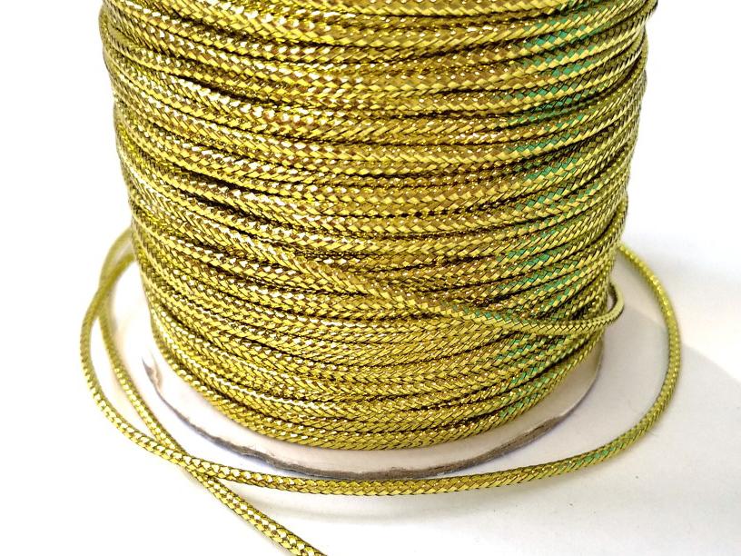 גליל חוט זהב מעוגל