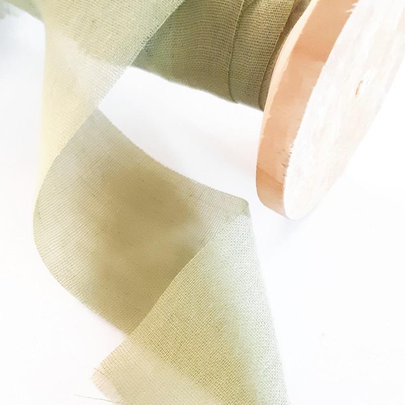 סרט כותנה שווצרית -ירוק