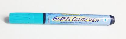 טוש לזכוכית - Glass Color Pen - Light Blue