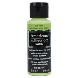 Americana Multi-Surface Acrylic Paint - Inch Worm
