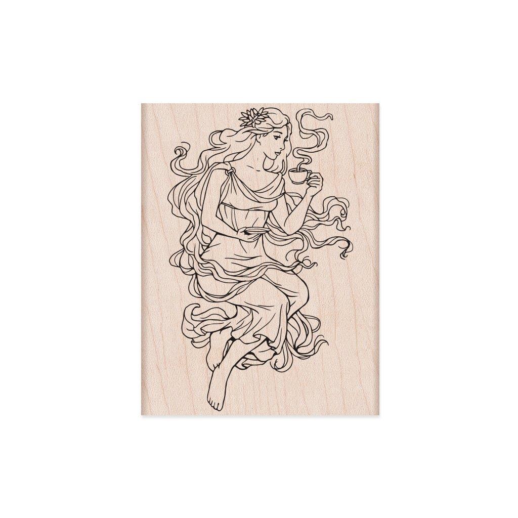 חותמת עץ - MOCHA MAIDEN
