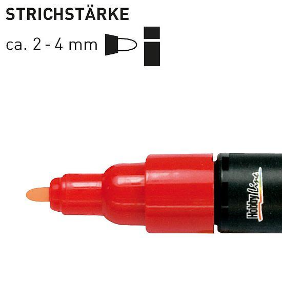 ART Pen Lackmalstift Medium - Red