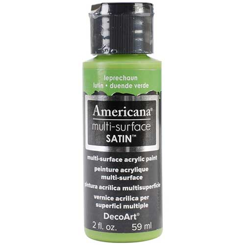 Americana Multi-Surface Acrylic Paint - Leprechaun