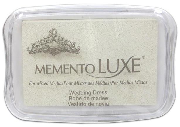 Memento Luxe Ink Pad - Wedding Dress