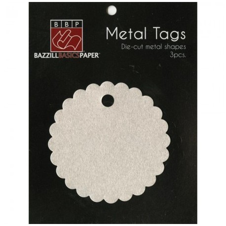 Metal Tags Scallop