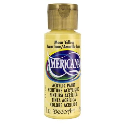Americana Acrylic Paint - Moon Yellow